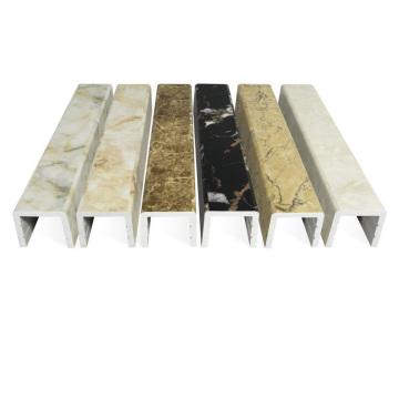 Chuveiro simplesmente equipado quarto Artificial pedra PVC água à prova de tempo Bar