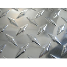 1050/1060/1100 Anti-slip Aluminum chequered sheet/plate for kitchen flooring