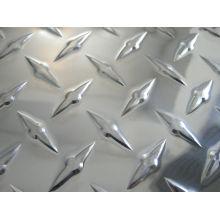 1050/1060/1100 Anti-slip Aluminum chequered sheet/plate for kitchen flooring