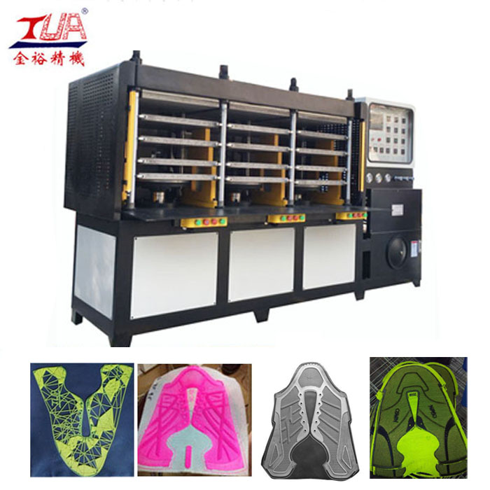 Chaussures en plastique Vamp Moulding Equipment with Sensor