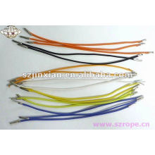 round elastic cord with metal tips