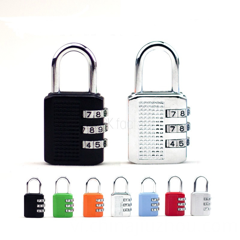 Double Colorful Zinc Alloy Lock