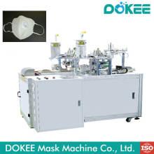 Máquina de soldadura ultrasónica de bucle de oreja con máscara no tejida
