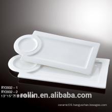 ceramic plate!2016 new design with especial design ceramic plate, for home ceramic plate