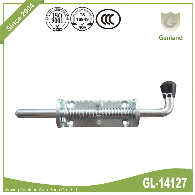 Spring Loaded Bolt Lock GL-14127