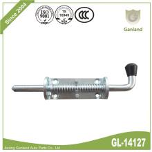 Stahlfederbelasteter Bolzenverschluss Ersatzknopf schwarz