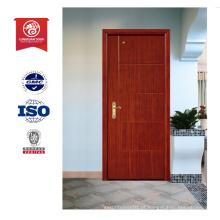 Melhor design de porta de madeira, porta interior de madeira embutida, porta ignífuga