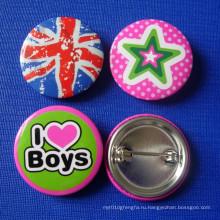 Различные конструкции значка кнопки, значок Tin (GZHY-TB-008)