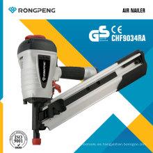 Rongpeng CHF10034ra 34 grados de clipping cabeza de enmarcado clavador