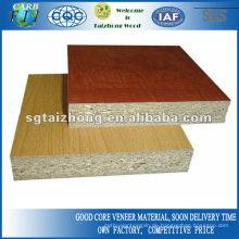 Melamin-PVC-beschichtete Spanplatte