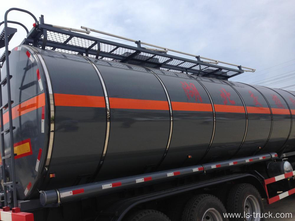 Heating Liquid Asphalt Tank Semi Trailer Insulation Tank
