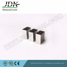 Segment rectangulaire de diamant de Jdk pour la coupe de marbre