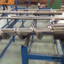 anti weary nitrided or bimetallic rubber extruding barrels