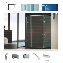 High Quality tempered glass Shower cabin hardware accessories
