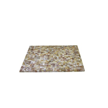 China Factories for Mother of pearl Placemat, Placemat direct from Jiujiang Tengjun Shell Arts and Crafts Co., Ltd. in China (Mainland) Chinese Freshwater MOP Placemat for Hotel Usage supply to Bermuda Suppliers