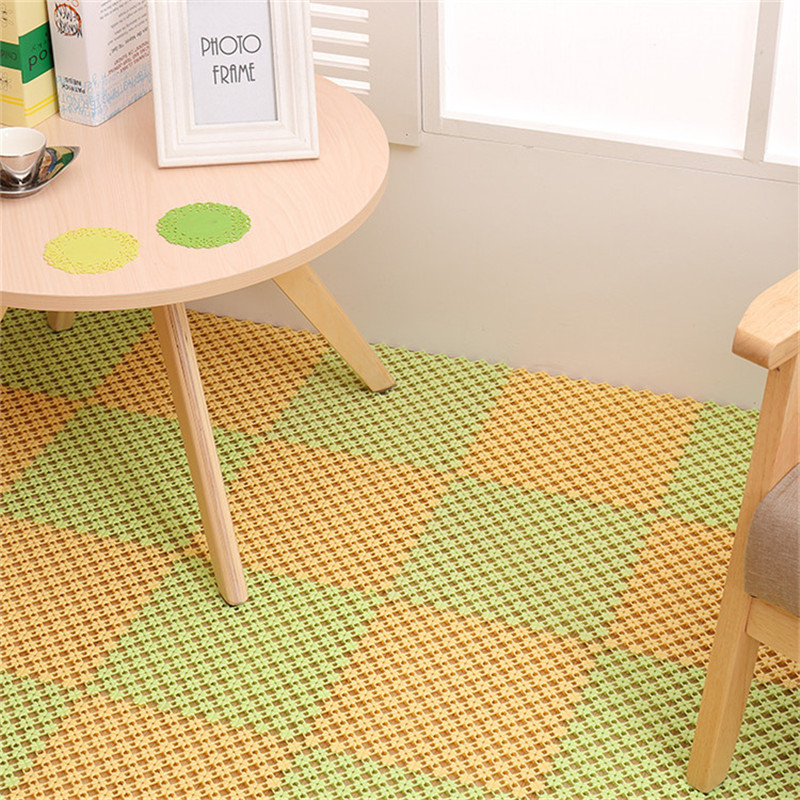 plastic floor carpet