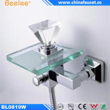 Beelee Bathroom Basin Water Wall Mounted Faucet