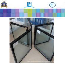 Vidro isolado claro de 6mm para o vidro de construção