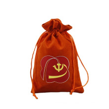 Flannel Drawstring Pocket Jewelry Gift Storage Bag Dustproof Drawstring Flannel Packaging Bag