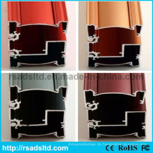 Werbungs-Leuchtkasten-Aluminiumrahmen-Abschnitt
