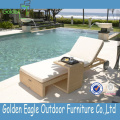 Pool Side Wicker Automatic Control Lounger