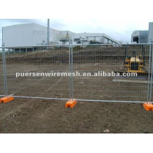 Portable wire fence