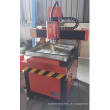 Aluminium Kupfer Messing Stahl CNC Router Metallgravierer
