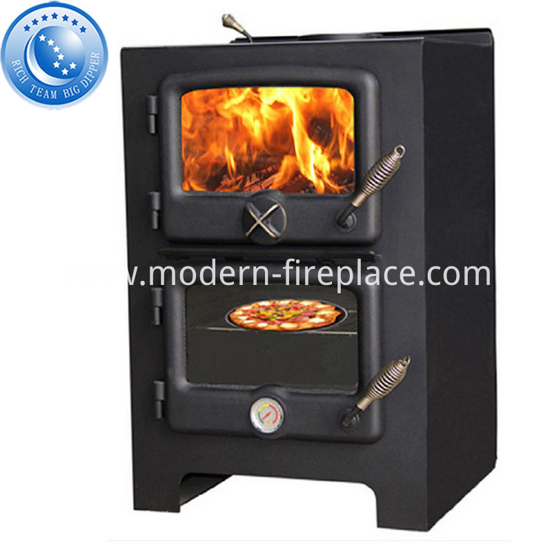 Wood Heating Kitchen Stove Direct Vent