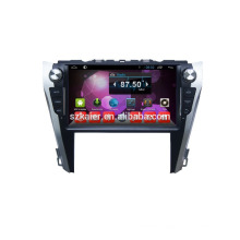 Quad core android 4.4.4 1024*600 HD car dvd player for Toyota 2015 camry GPS navigation wifi 3G usb OBD radio RDS tv video