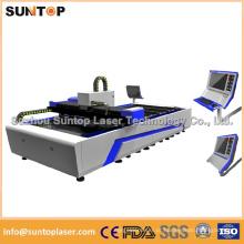 Corte a laser em aço inoxidável / Máquina de corte a laser CNC / Corte a laser de aço
