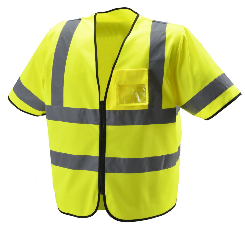 Fluorescent Yellow Hi Vis Reflective Vest