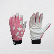 Pig Grain Leather Mechanic Work Glove-7312