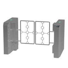 Swing Barrierswing Barrier Gate Swing Gate Turnstile Low Price Mechanism Fingerprint Scanner Automatic