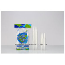 PP Material Disposable Clear Water Cup