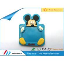 promotional cute cartoon soft pvc fridge magnet kids toy