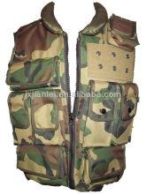 Camouflage Soft Aramid Bulletproof Jacket/Military Anti Ballistic Jacket/Bullet Proof Jacket at NIJ IIIA