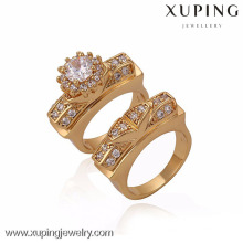 13343-Xuping Old Fashion Style Set bague en or pour Couple