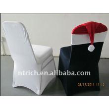 Encantador Spandex Cubiertas de la silla para Navidad