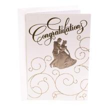 Carte de voeux d'invité de banquet de mariage Carte d'invitation de mariage