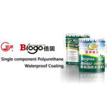 Recubrimiento impermeable de poliuretano de un solo componente / Material de construcción / Revestimiento de techo (ISO)