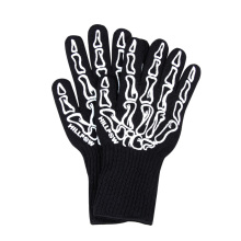 Semua Fingers Working Cotton Black Gloves