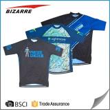 custom club shorts sleeve cycling jersey / bicycle shirts
