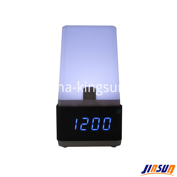 Led Lamp With Clock 504 8