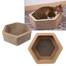High Quality for Hexagon Model Cattery Scratching Board,Hexagonal Bowl Cat Scratcher,Hexa-Scratch Cat Scratcher Suppliers in China Cat Scratch Sofa Lounge export to United Kingdom Manufacturers