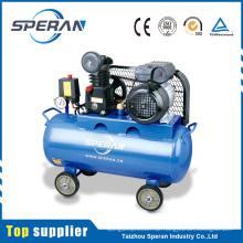 Zuverlässiger Partner 8bar 0.75kw 50L beweglicher riemenbetriebener 1hp Luftkompressor