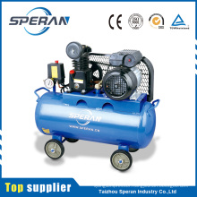 Reliable partner 8bar 0.75kw 50L mobile belt driven 1hp air compressor