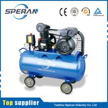 Compressor de ar 1hp movido a correia móvel do parceiro 8bar 0.75kw 50L seguro