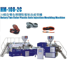Machine d'injection rotative 2 couleurs TPU, PVC, Tr