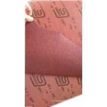 Rouleau de tissu abrasif en céramique / abrasif enduit / tissu de ponçage