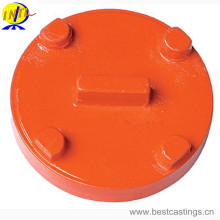 FM&UL Approved Ductile Iron Grooved Fitting Blind Cap